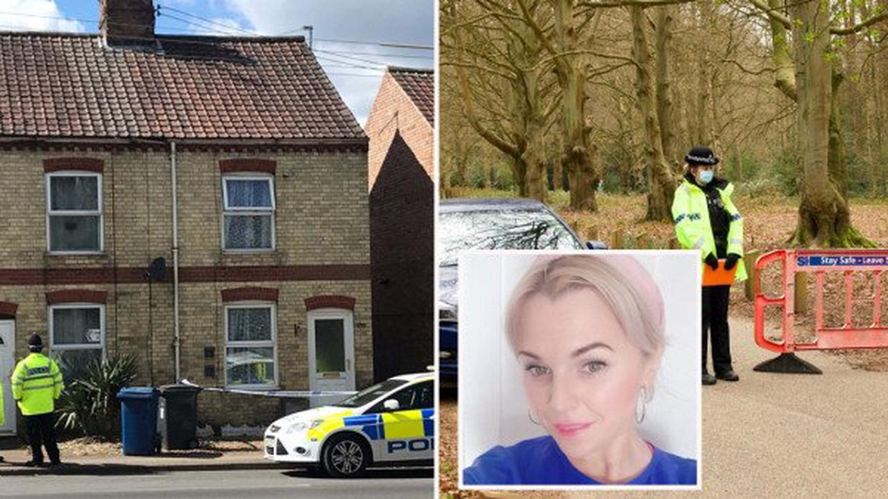 Mum-of-five found dead in Suffolk lake named as man questioned over murder
