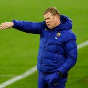 Barca coach Koeman names 20-man squad for 2nd leg must win against Sevilla with 5 players missing