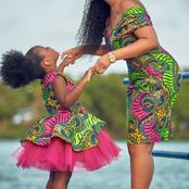 Gorgeous Ankara Outfits For Mother And Daughter