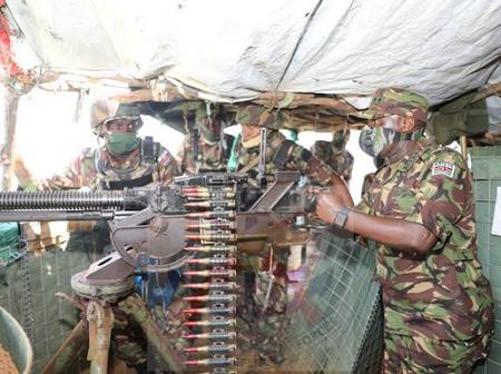 KDF Show Their Supremacy After They Are Allowed To Pass Through The Closed County Borders