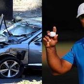 Le golfeur Tiger Woods victime d'un grave accident de la route