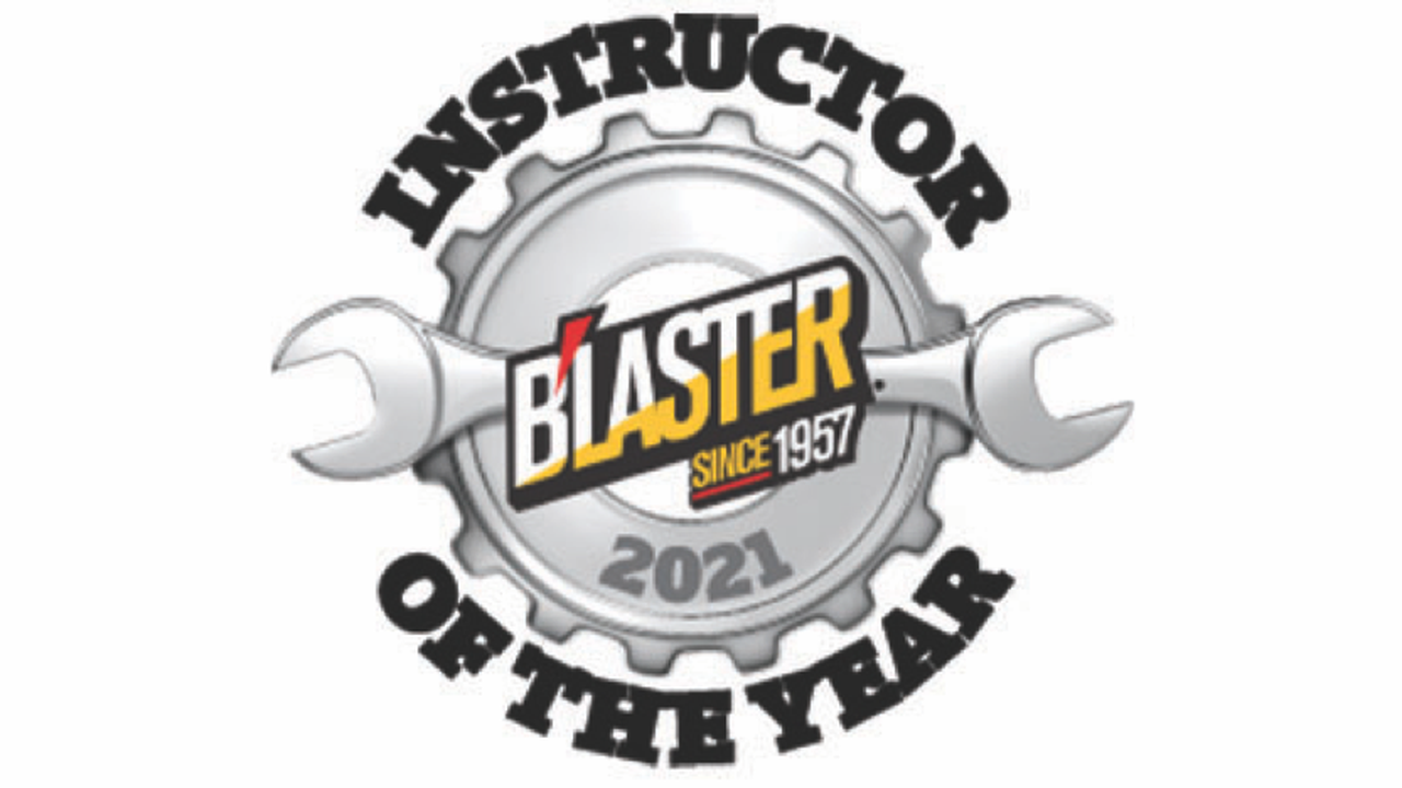SEARCH CONTINUES FOR 'B'LASTER INSTRUCTOR OF THE YEAR'