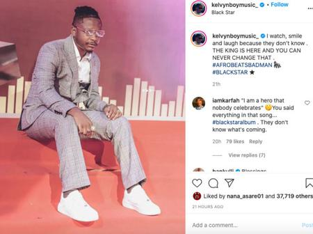 Kelvynboy speaks out after stomping out of VGMAs 21 avenue