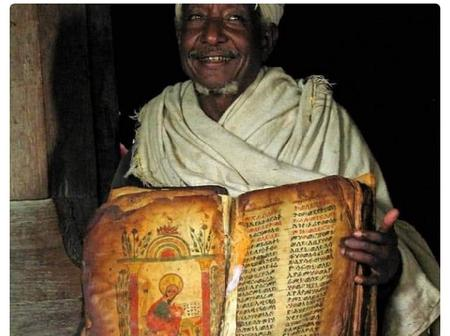 See The Ethiopian Bible Which Is The Oldest And Complete Bible On Earth, 800 Years Older Than KJV