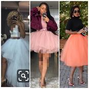 Tailors, See Fashionable Skirt Inspirations You Can Sew With Net Fabrics