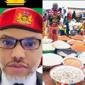 Mazi Nnamdi Kanu Reacts Over Food Blockade Placed ON South By North