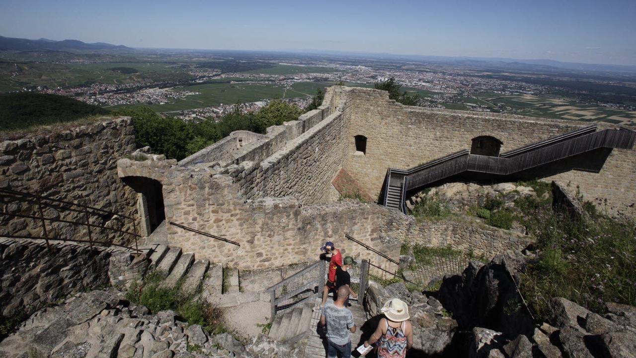 «Les portes du temps» au château du Hohlandsbourg