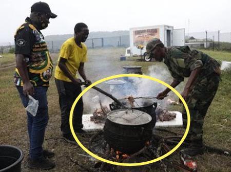 'Potjie' Outside Nkandla As Zondo Fumes