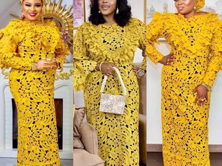 Mothers, Check Out These Stylish Kaftan Gowns For You