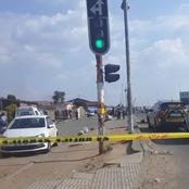 A security guard was shot and killed while on duty this afternoon in Alexandra