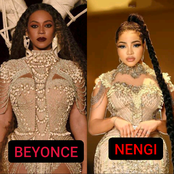 Between Nengi And Beyonce, Who Rocked The Cowries Gown Better?
