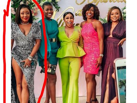 It A Wedding, Not A Red Carpet Show. See What Ini Edo Wore To Williams Uchemba's Wedding (Photos)