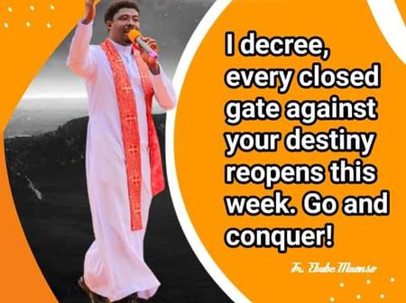 Connect And Claim This Decree By Rev Fr Ebube Muonso That Will Bring A Change In Your Life