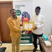 Ortom Receives Award As Most Outstanding Philanthropist