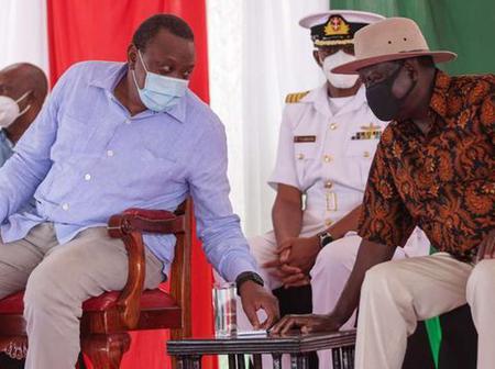 Raila's ODM Finally Speaks On Ending Handshake With Uhuru Kenyatta
