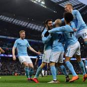 Manchester City becomes 9th team to go top of the premier league table this season