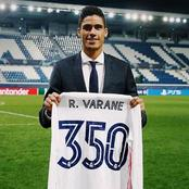 Real Madrid Star Raphael Varane Opens Up On How He Feels Playing 350 Games For The Club.