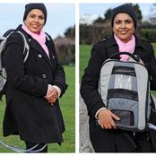 Meet The Woman Who Does Not Have A Heart In Her Body. She Carries Her Heart In A Backpack