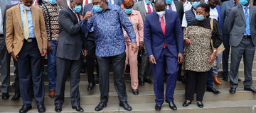 Sigh of Relief For DP Ruto's Allies Following President Kenyatta's Latest Move