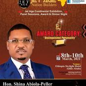 Shina Peller to Speak at the Jet Age Nation Builders in Ethiopia