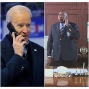 Mixed Reactions as Joe Biden's Phone Conversation With President Uhuru is Revealed