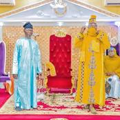 Oluwo Received Nigerian Ambassador To Russia In His Palace (Photos)