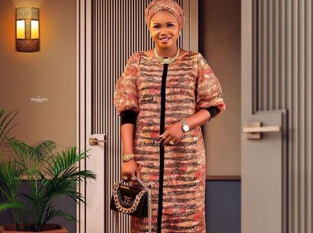 Stylishly Dazzling Ankara Maxi Gown Styles For Stunning Divas.