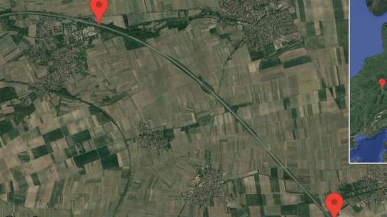 Worms: Gefahr durch Gegenstand auf A 61 zwischen Worms/Mörstadt und Gundersheim in Richtung Koblenz