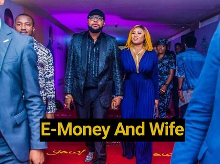 Check Out 15 Different Photos Of E-Money Hanging Out With His Beautiful Wife, Juliet Okonkwo