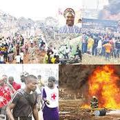 Fire Destroys Shops, Valuables Worth Millions At Yobe Market