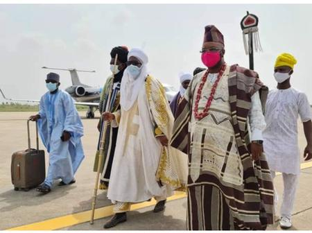 Former Emir Of Kano, Sanusi Lamido Storms Ibadan For Coronation Of Kola Karim [VIDEO]