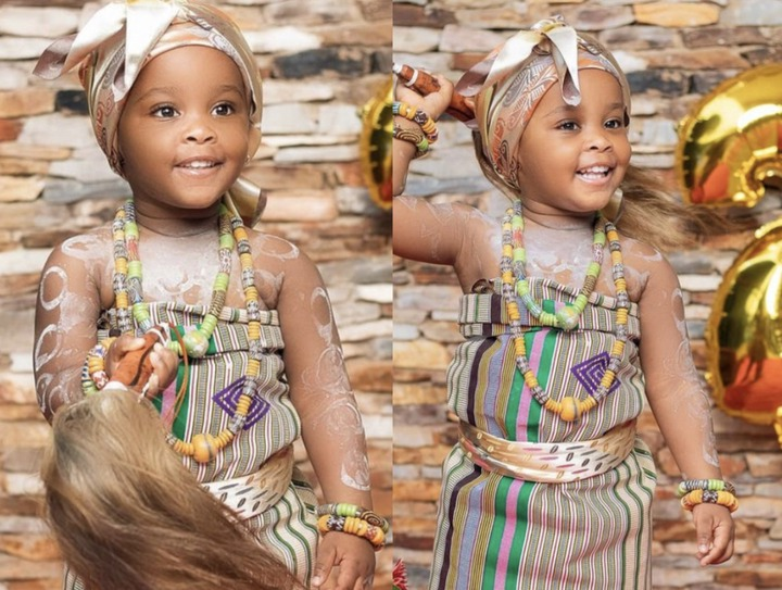 2454d4b0ad074be69cfe839f844318b3?quality=uhq&resize=720 - McBrown's Baby Maxin Celebrates Her Birthday In Church With Bunch Of Hampers To Congregants