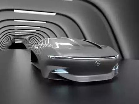 A Car And A Bike, Opel Alcyone Newest Electric Concept Car