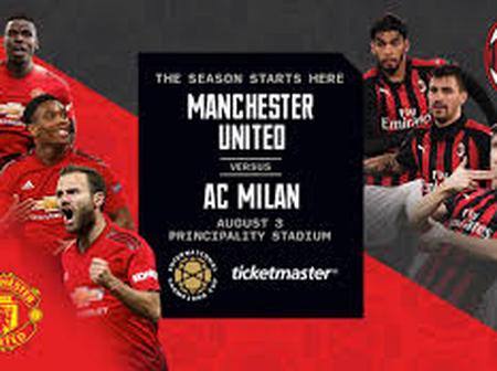 Why Manchester United's clash with AC milan is one to watch out for