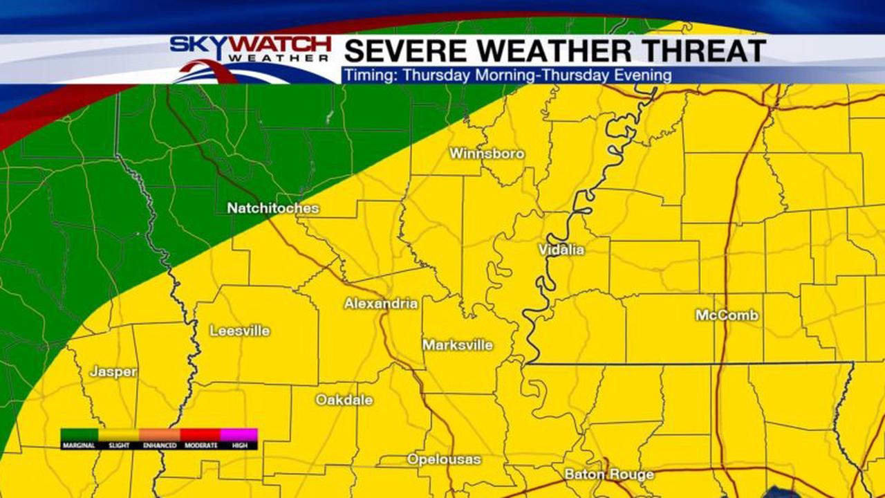Severe Storms Likely Thursday