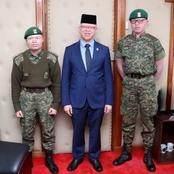 Isaac Mwaura Celebrates These Albino's Who Have Scaled Heights In Military Ranks