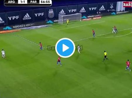 (Video) Watch this brilliant goal from Messi that was disallowed by VAR