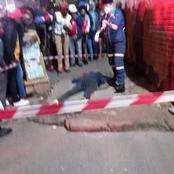 Hillbrow Well Known Street Robber Shot And Killed By Taxi Driver.