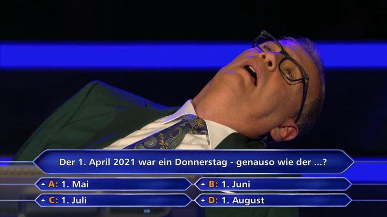 Und sie rechnet und rechnet ... Diese Kandidatin lässt WWM-Moderator Günther Jauch regelrecht verzweifeln