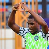 Odion Ighalo considering possible Nigeria return.