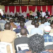 Bishop Khamala Meets All Religious Leaders In Matungu Ahead Of By-Election