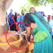 Checkout The Wedding Cake A Couple Used For Their Traditional Marriage Which Sparked Reactions