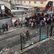 Sad!! Five children got involved in a crossfire during a gang related shooting in Cape Town.