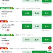 Today's Sure Football Matches Predictions With the Best Odds