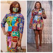 Between Kate Henshaw and Funke Akindele, who rocked the patched Ankara dress better?