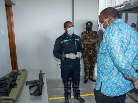 Tanzanians React to President Uhuru Kenyatta's Recent Launch Of Firearm Firm In Ruiru