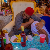 Zubby Michael Shares A Photo Of Himself And Pete Edochie, Says