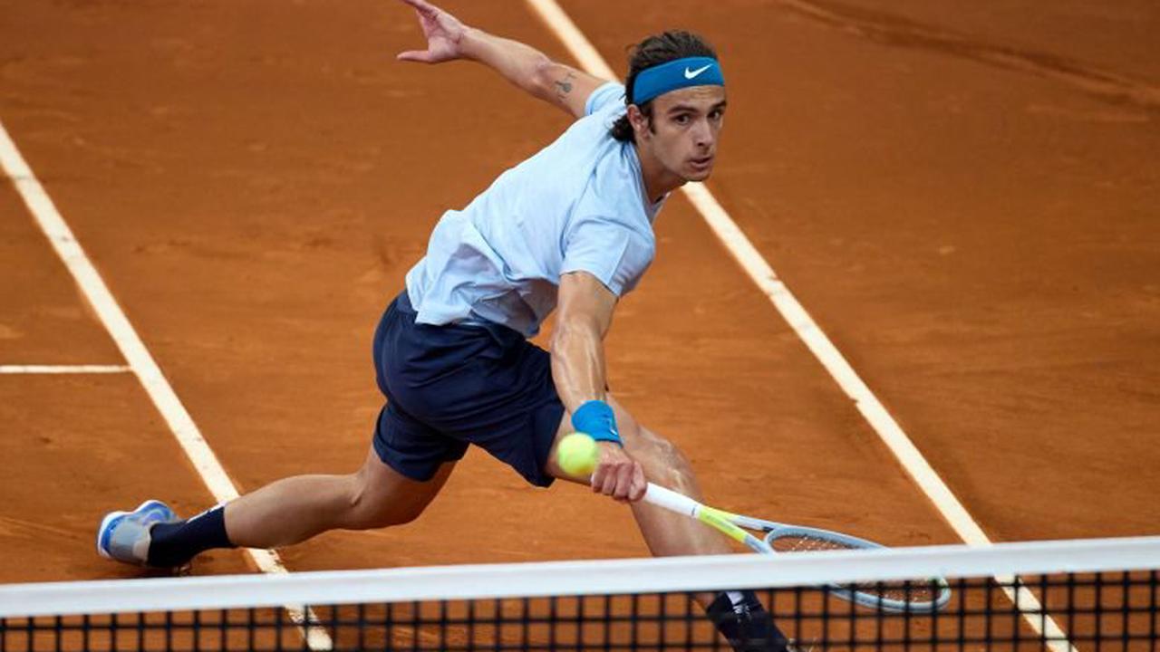 ATP Rome: David Goffin contre l'Italien Salvatore Caruso, 80e mondial, au premier tour