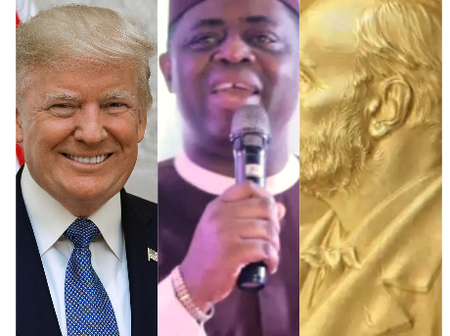 Fani-Kayode react  to Trump's Nobel peace prize nomination