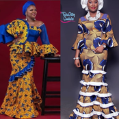 Checkout these 50 Decent and Fashionable Ankara Outfits for Pretty Ladies [See Photos]
